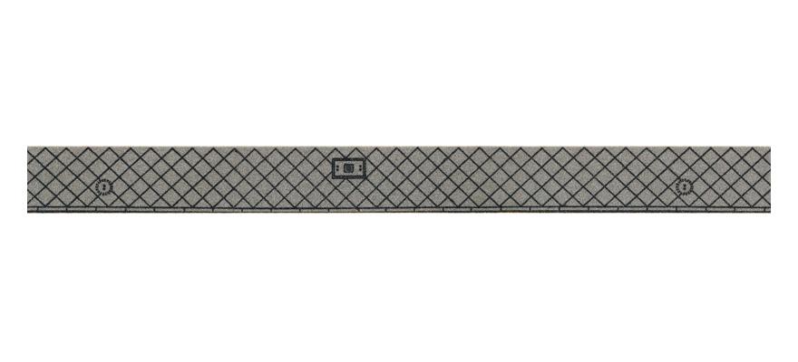 NOCH 48450 Gauge Neutral Pedestrian Walkway 15 mm width, 1 Roll, 1m Length