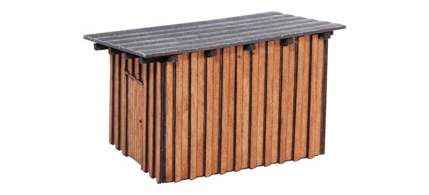 modellbahnshop noch 14627 kleiner schuppen. Black Bedroom Furniture Sets. Home Design Ideas