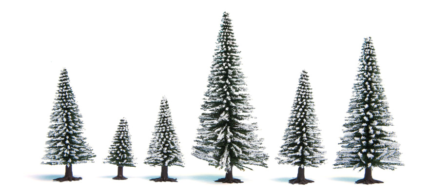 26928 Snow Fir Trees