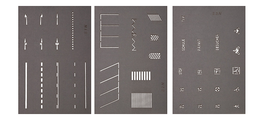 34240 Street Marking Templates