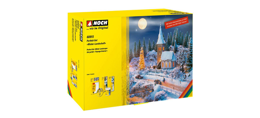 "60815 Perfect set ""Winter Landscape"""