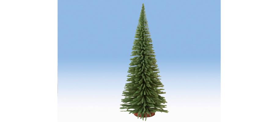 4019826 Deco Fir Tree with Wooden Base