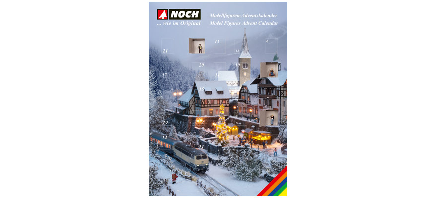 15993 Figuren adventskalender H0