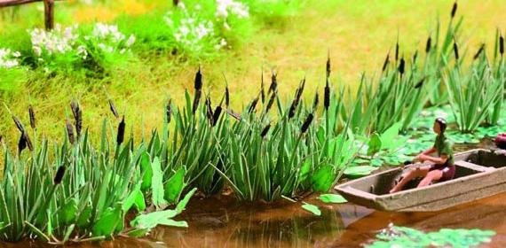 noch 14102 laser cut minis schilf 16 pflanzen landschaft ausschm ckung pflanzen str ucher. Black Bedroom Furniture Sets. Home Design Ideas
