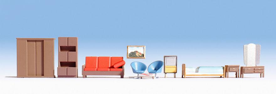 modellbahnshop noch 14832 m bel schlaf wohnzimmer. Black Bedroom Furniture Sets. Home Design Ideas