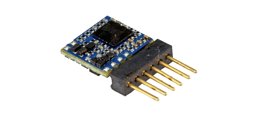 59827 Micro DCC LokPilot 5, 6 broches