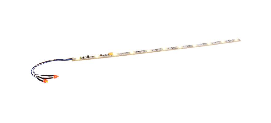 ESU 50700 Innenbeleuchtung 255mm 11 LED warmweiß mit Schlusslicht Set Neu