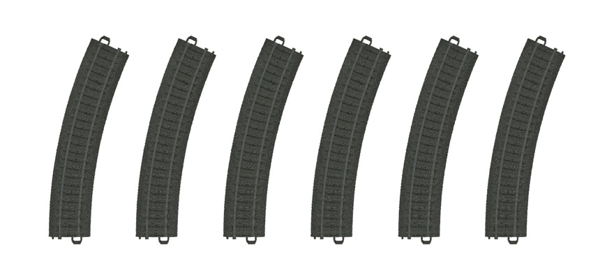 23130 Curved Plastic Track