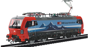H0, courant alternatif / 3 rails, SBB, Époque  VI