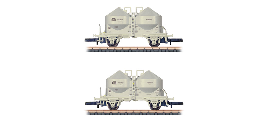 86665 Powdered Freight Silo Car, type Ucs 908