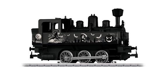 Personenwagen Halloween Glow in the Dark Spur H0 Märklin 48620 Start up