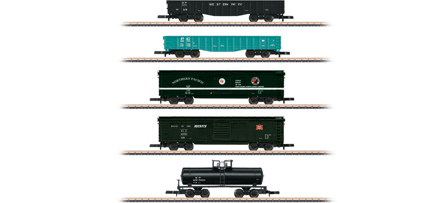 82498 US Güterwagen-Set