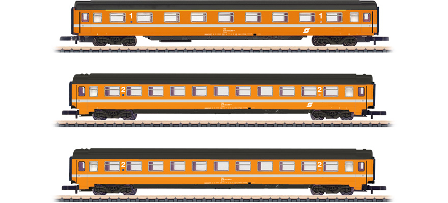 87343 Passenger Car Set