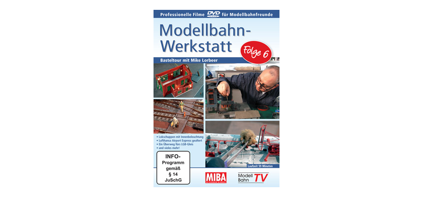 15285029 Workshop di modellismo ferroviario - episodio 6