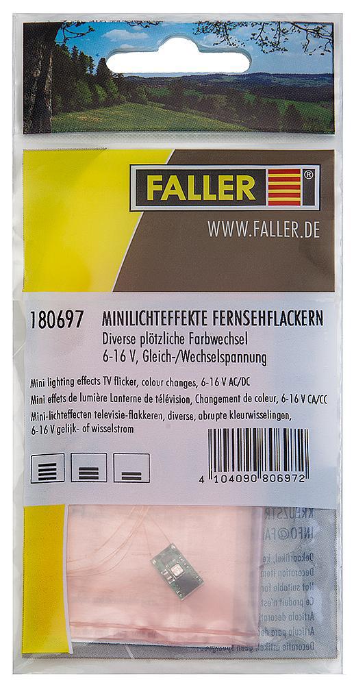 FALLER 180697 Minilichteffekte Fernsehflackern