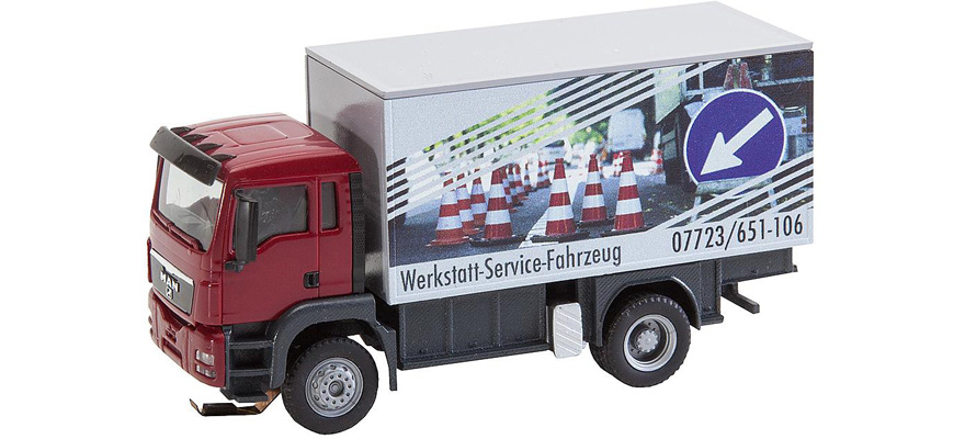 161554 Camion TGS MAN Camion atelier (HERPA/RIETZE)
