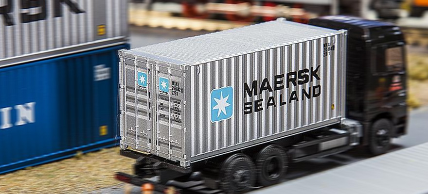 180823 20' Container MAERSK SEALAND