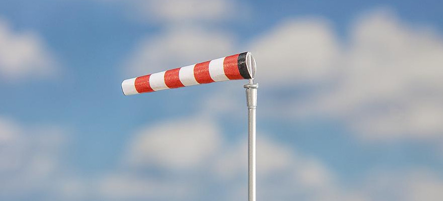 FALLER 180924 Windsocks with poles