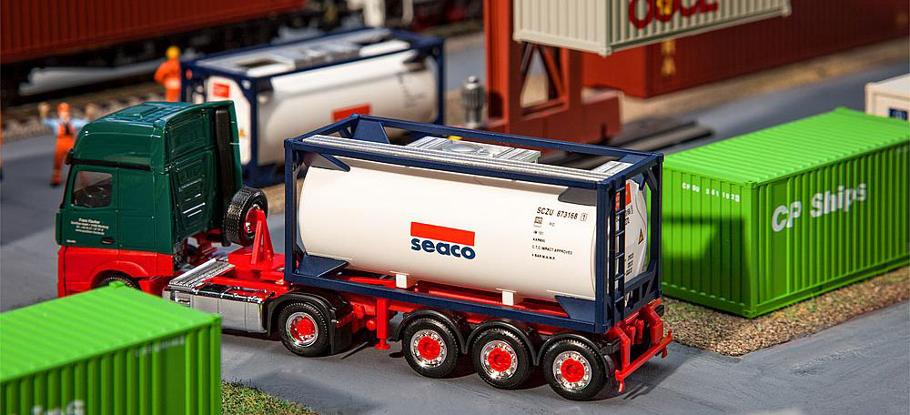 """Herpa 20/"""" Tankcontainer"""