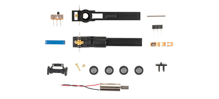 163710 Car System Chassis-Kit N-Bus, N-LKW