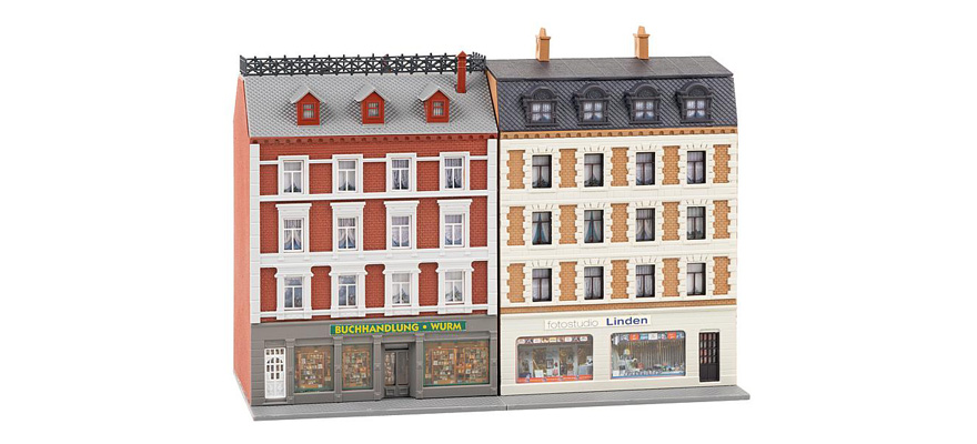 232389 2 Renovated town houses with shops