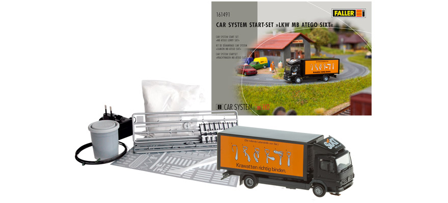 161491 starter set for the MB Atego Sixt truck