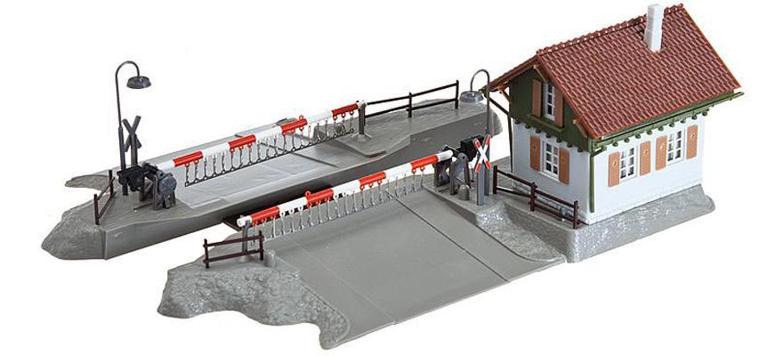 Faller H0 643 Straßenkreuzung zweispurig 17 x 17cm Modellbau Eisenbahn-Anlage