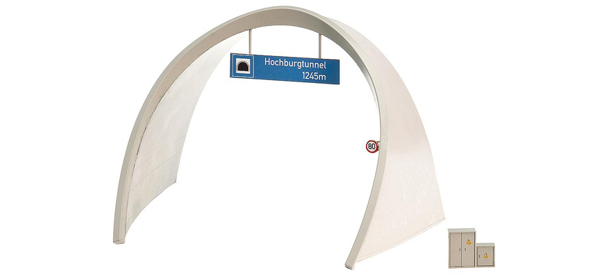 Modellbahnshop faller 272582 ice road tunnel portal for N scale tunnel portal dimensions