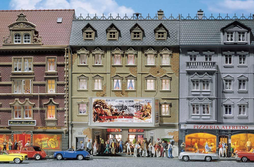 Faller 130449 città cinema Belaria KIT h0