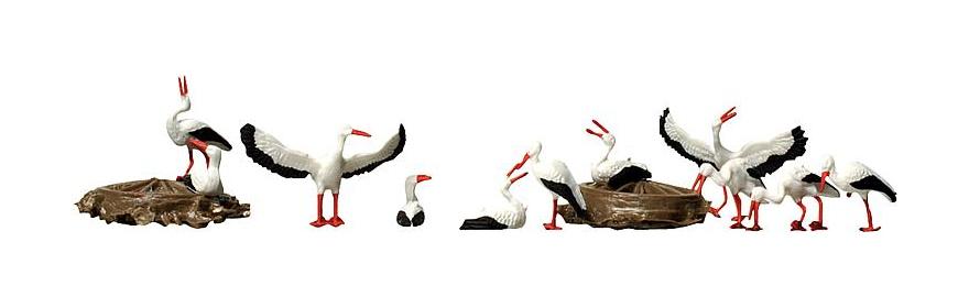 Faller 154006 Störche im Nest