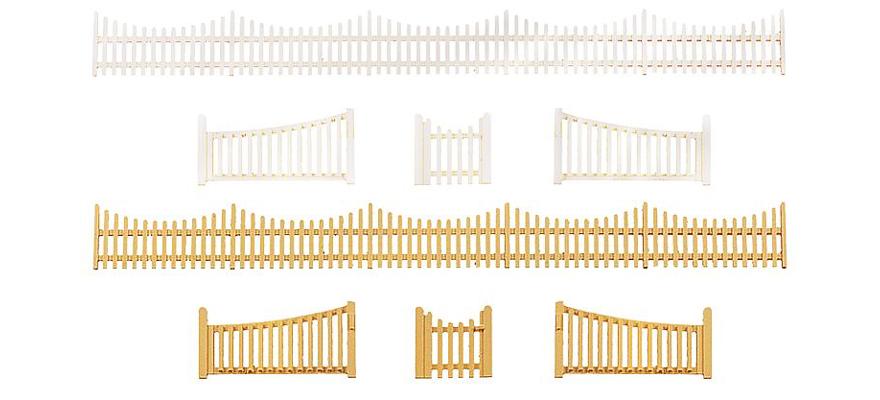 faller 272406 spur n gartenzaun mit tor. Black Bedroom Furniture Sets. Home Design Ideas