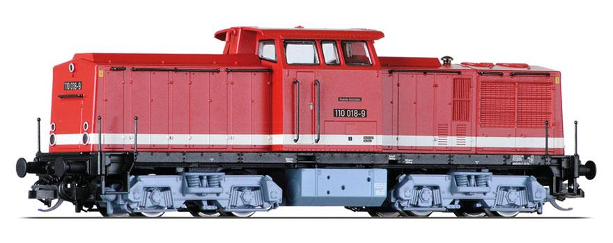 tillig 04593 spur tt diesellokomotive baureihe 110 der dr. Black Bedroom Furniture Sets. Home Design Ideas
