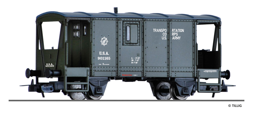 Tillig 76740 Box car USTC