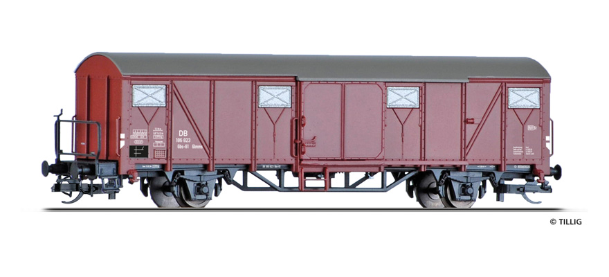 17174 Covered freight car Glmms 61