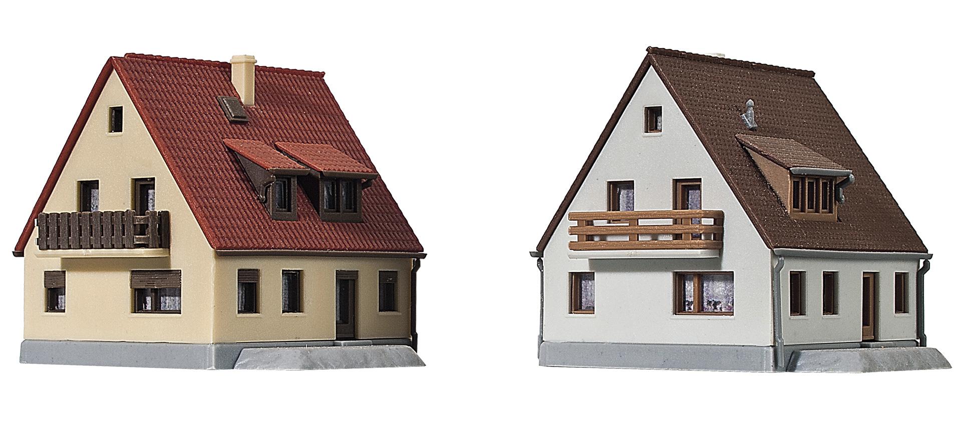 Kibri 36780 2 Siedlungs Hauser
