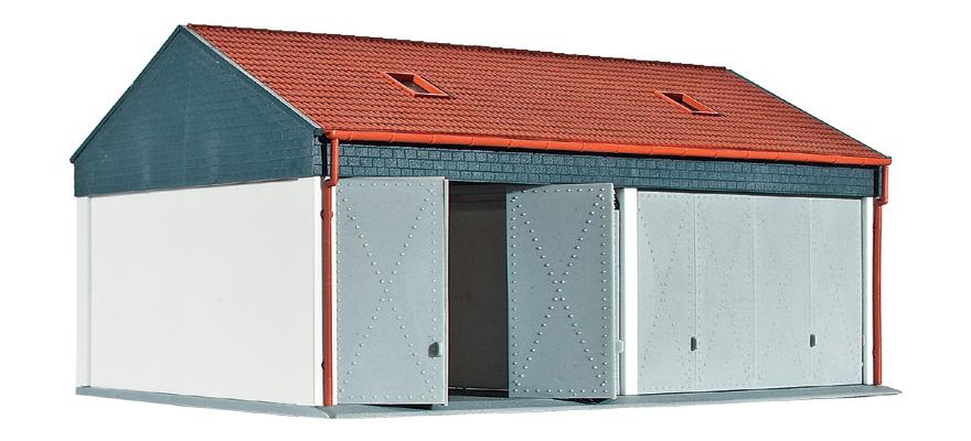 modellbahnshop kibri 38540 garage klein. Black Bedroom Furniture Sets. Home Design Ideas