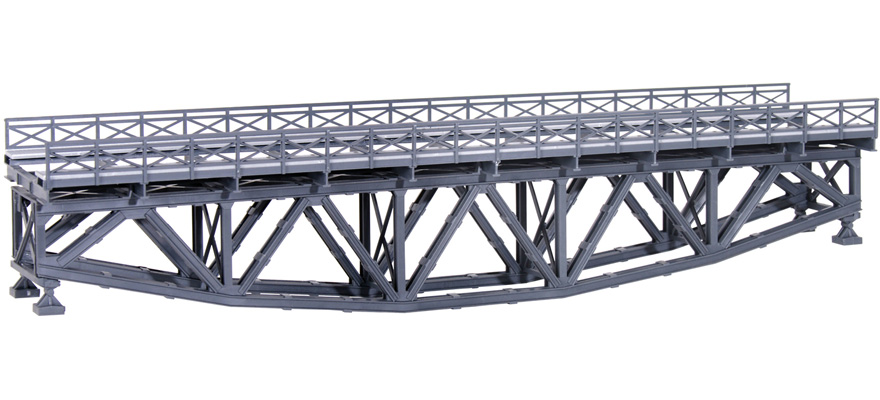 39703 Steel fish belly bridge