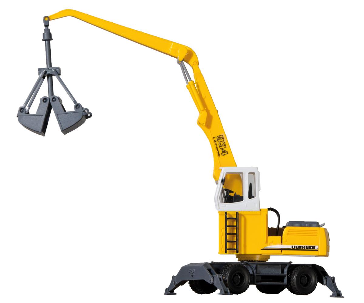 Kibri 11261 H0 LIEBHERR 934 Litronic mit Radfahrwerk Neu