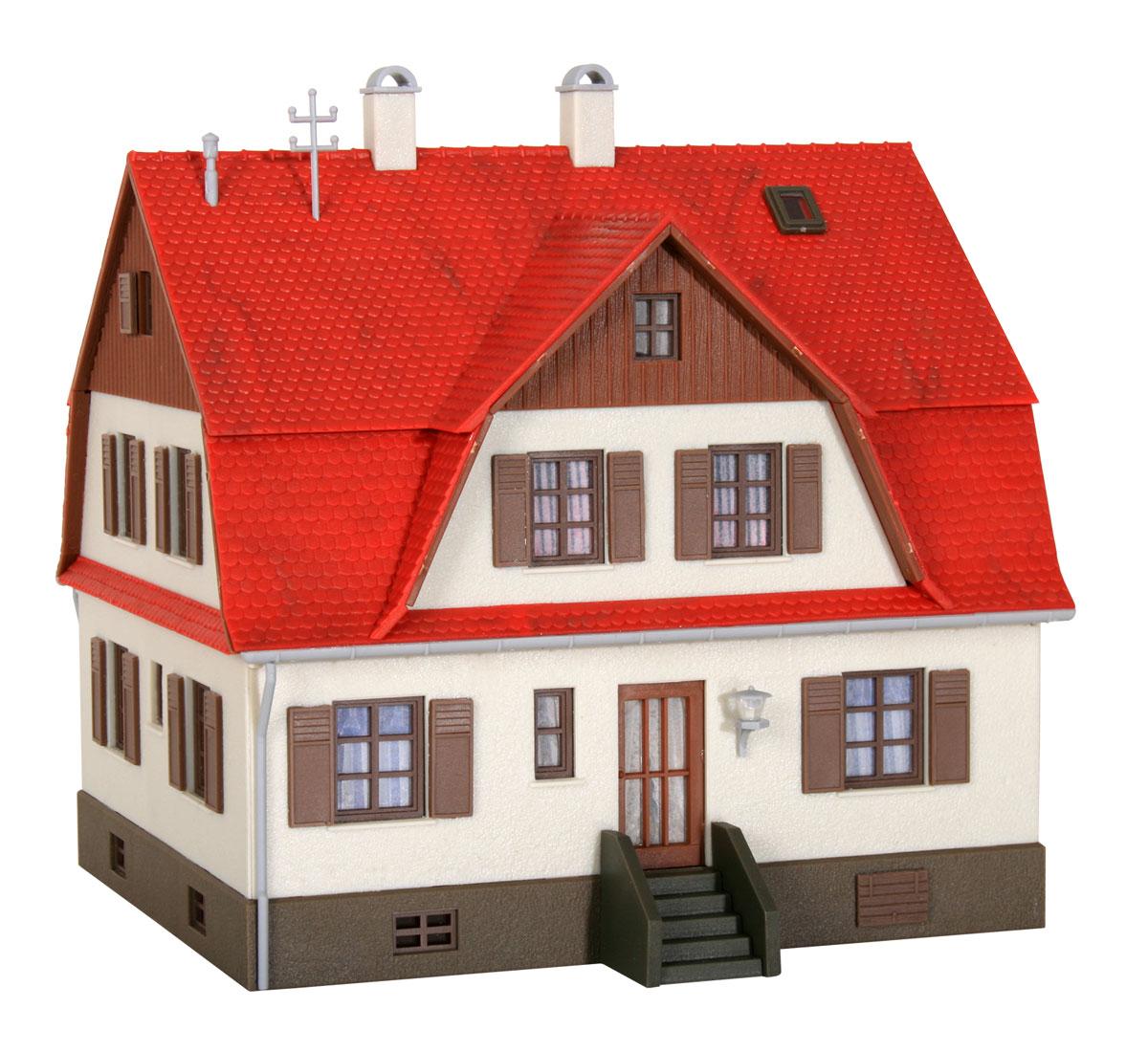 Bausatz Spur H0 Kibri 38160 Wohnhaus mit Mansarde