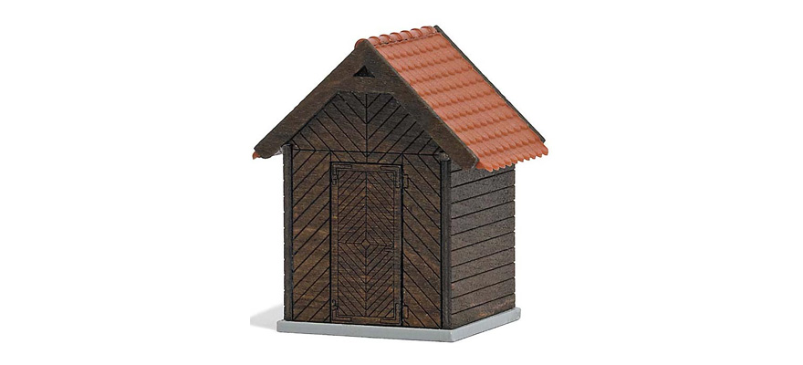 1545 Wooden oil shed