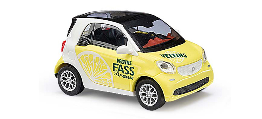 Busch 50712 Smart Fortwo Coupe »Veltins Fassbrause«