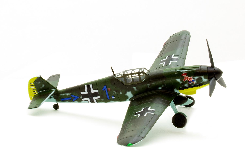Busch 25014-1//87 Neu H0 Messerschmitt Bf-109 F4//B Jadgbomber