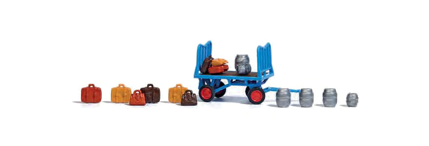1624 Platform cart with accessories