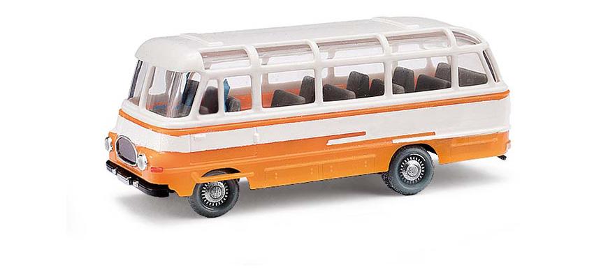 busch 95700 voie h0 espewe robur lo 2500 bus orange. Black Bedroom Furniture Sets. Home Design Ideas