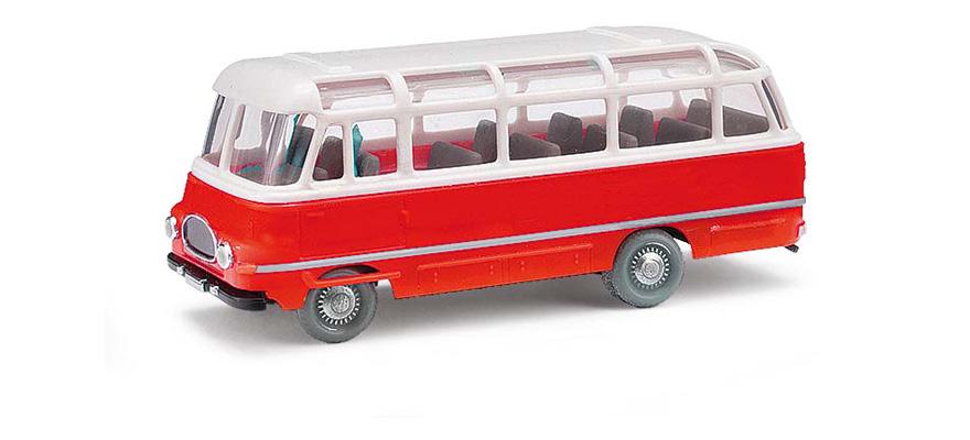 busch 95703 scala h0 espewe robur lo 2500 bus rot. Black Bedroom Furniture Sets. Home Design Ideas