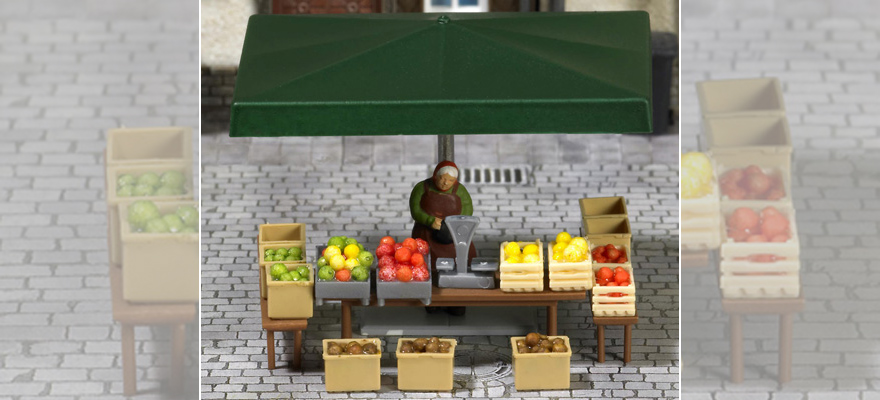 "7706 Mini world ""Stall with fruits and vegetables"""