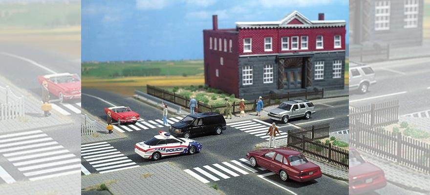 Busch 7096 Straßenbau Set