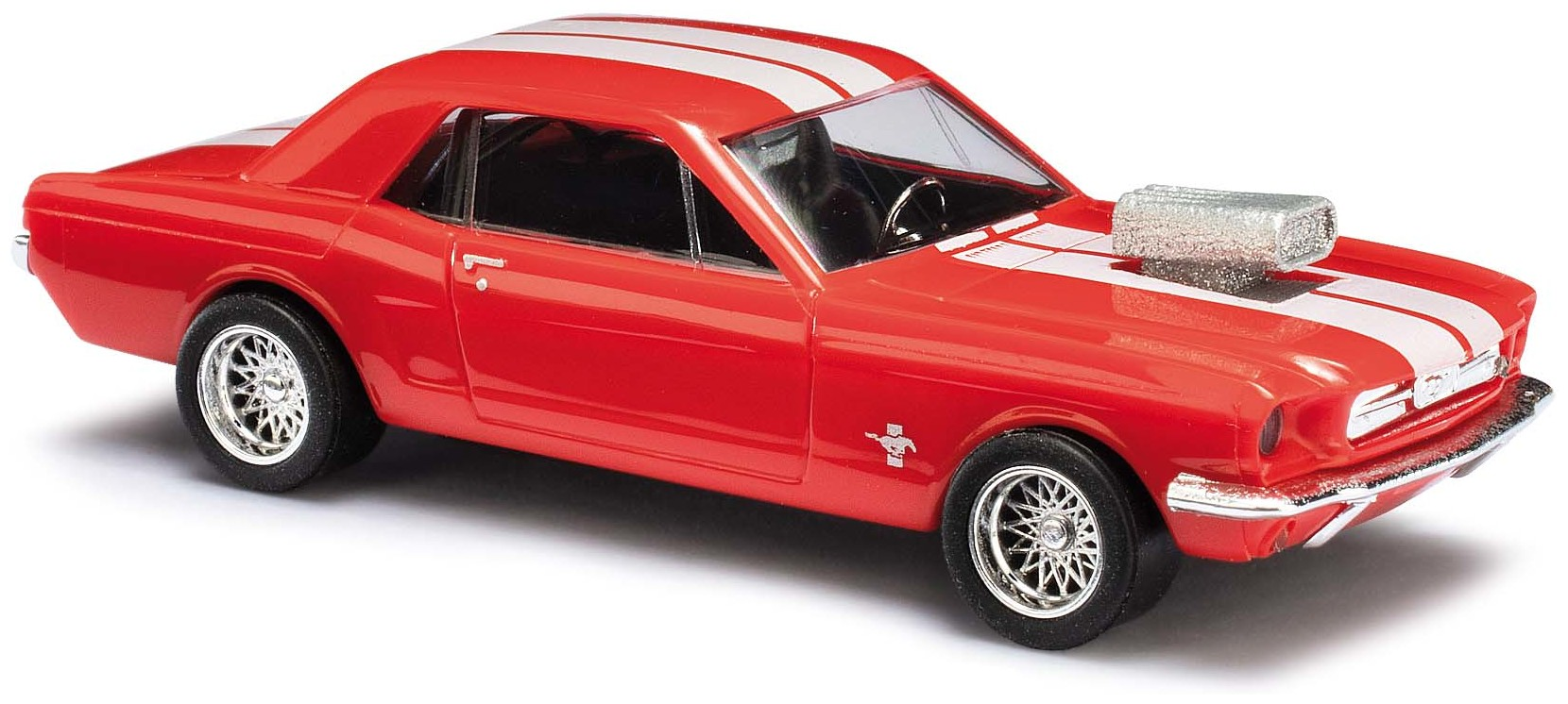 Busch 47555 Ford Mustang 64 Pace Car  H0 1:87 NEU in OVP
