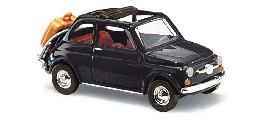 H0 Fiat 500 Busch 48728-1//87 Neu Carabinieri