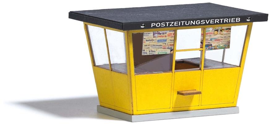 HS Busch 1380  Typischer DDR-Kiosk in moderner Bauweise mit großen Fenster